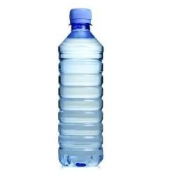 Water in bottles